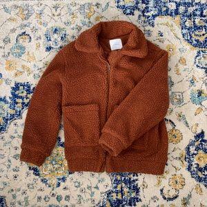 Elodie Teddy Faux Shearling Jacket